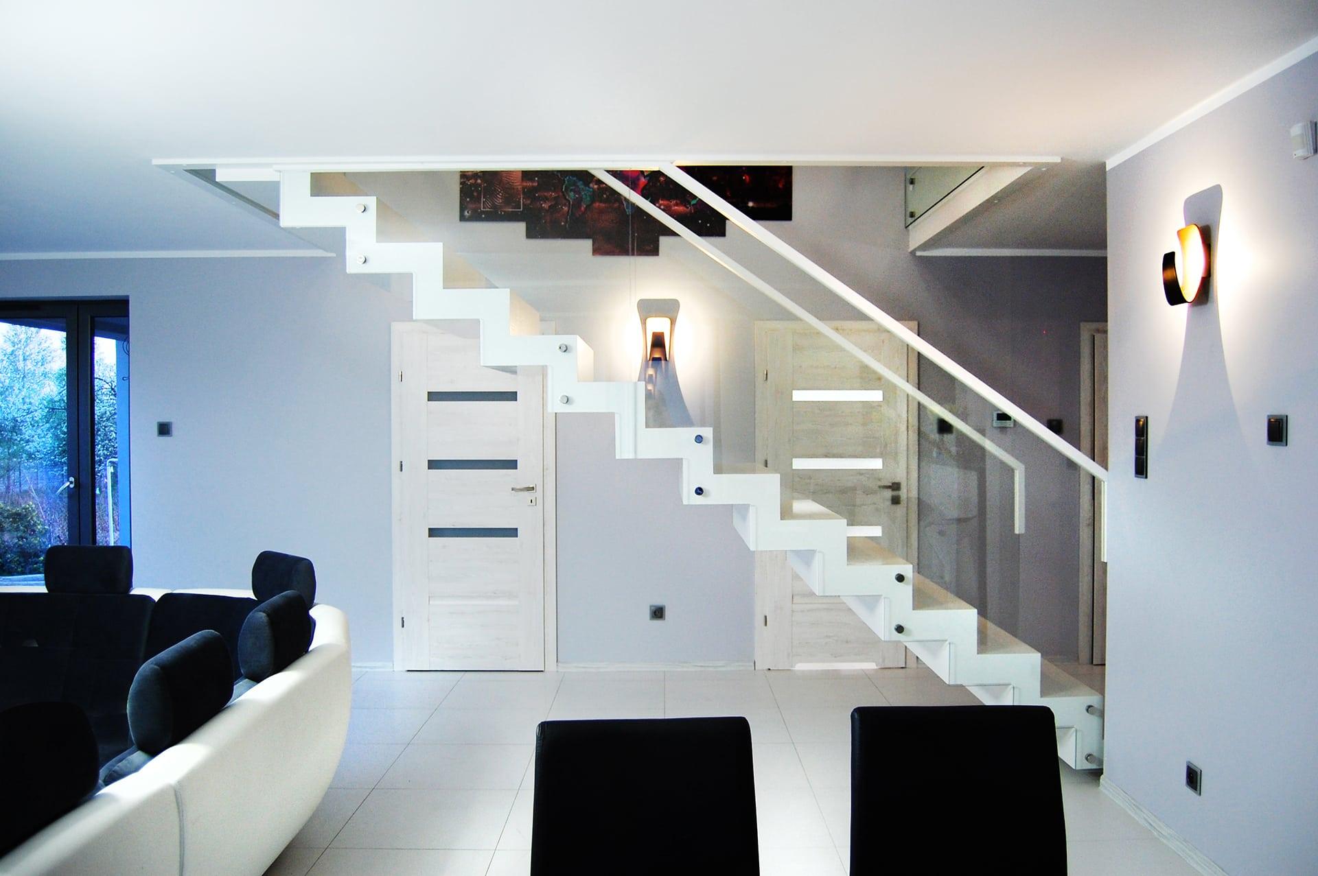 Dobry projekt schodów może uzupełnić wystrój całego domu